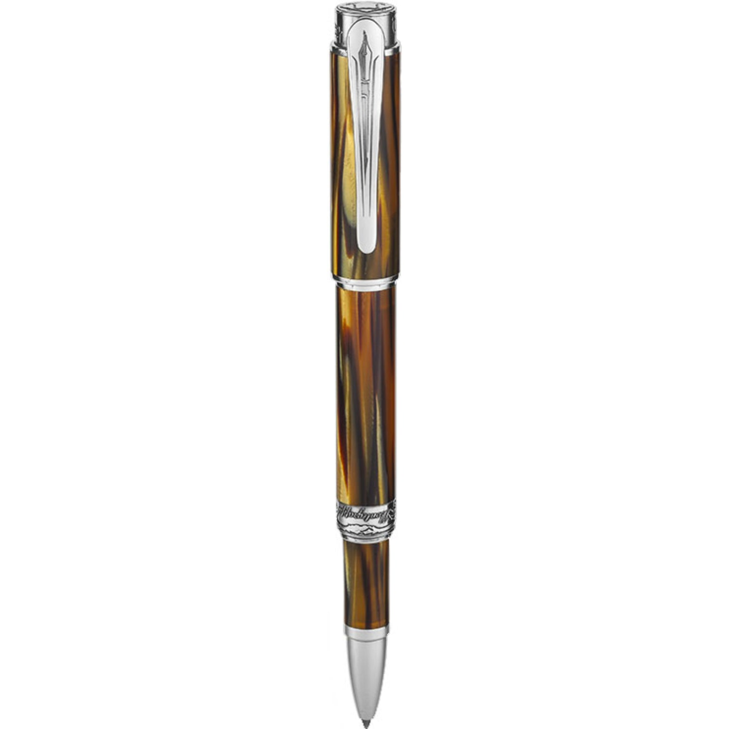 Hemingway : The Writer Rollerball Pen, Silver