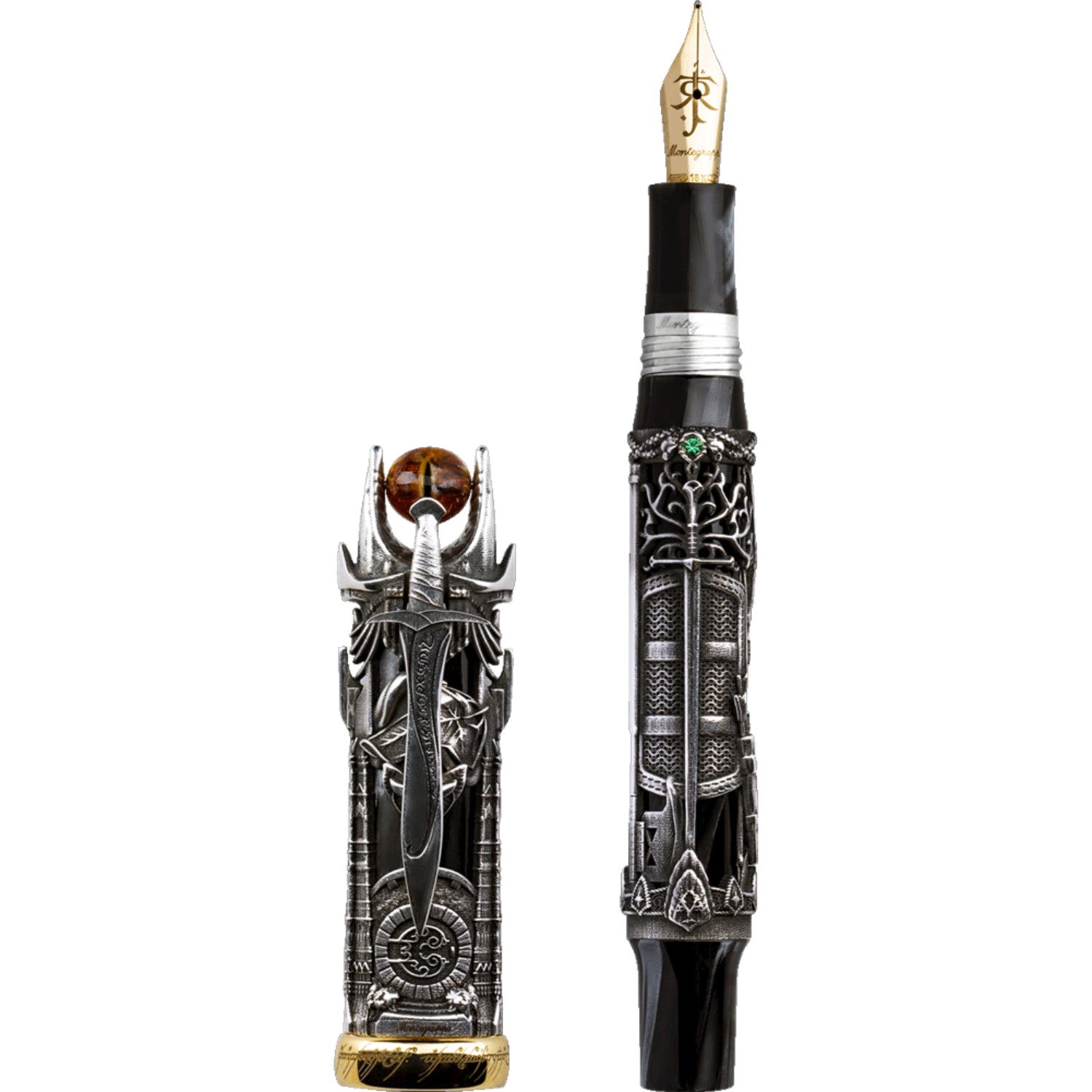 The Lord Of The Rings L.E., Fountain Pen, Silver, Medium