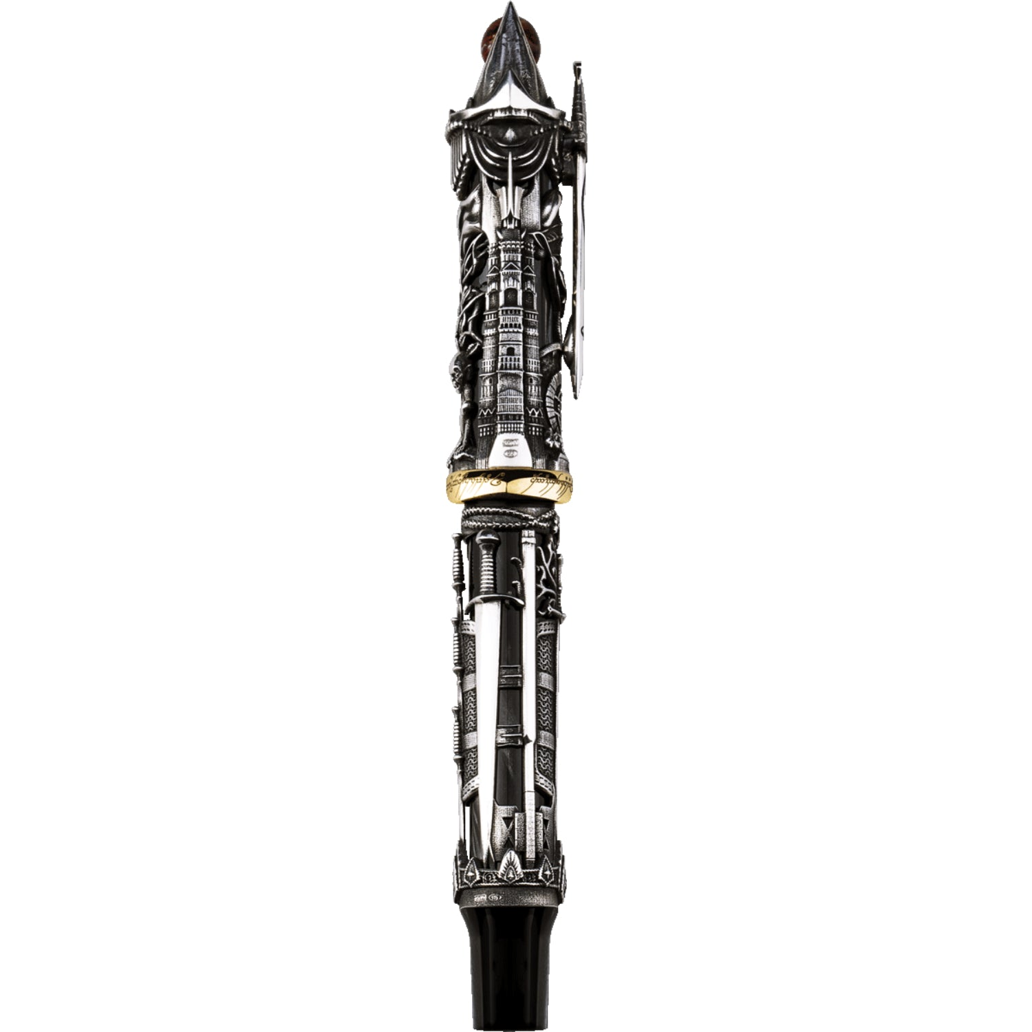 The Lord Of The Rings L.E., Fountain Pen, Silver, Broad