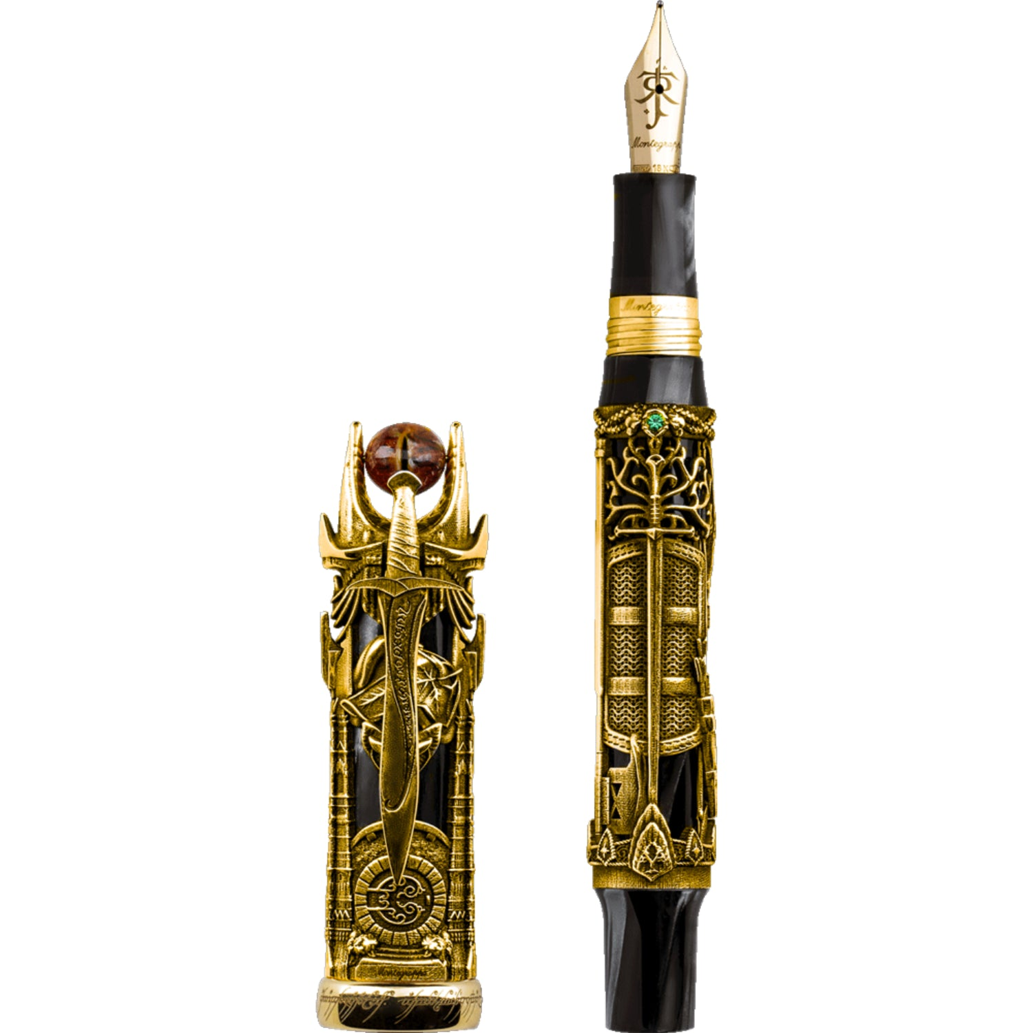 The Lord Of The Rings L.E., Fountain Pen, 18K Gold, Double Broad