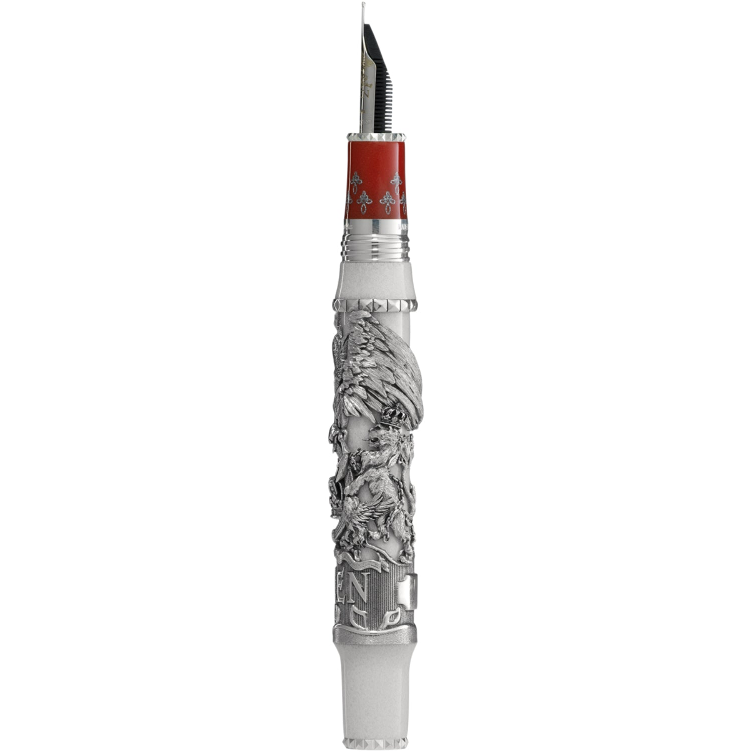 Queen: A Night at the Opera L.E. Fountain Pen, Silver, Medium