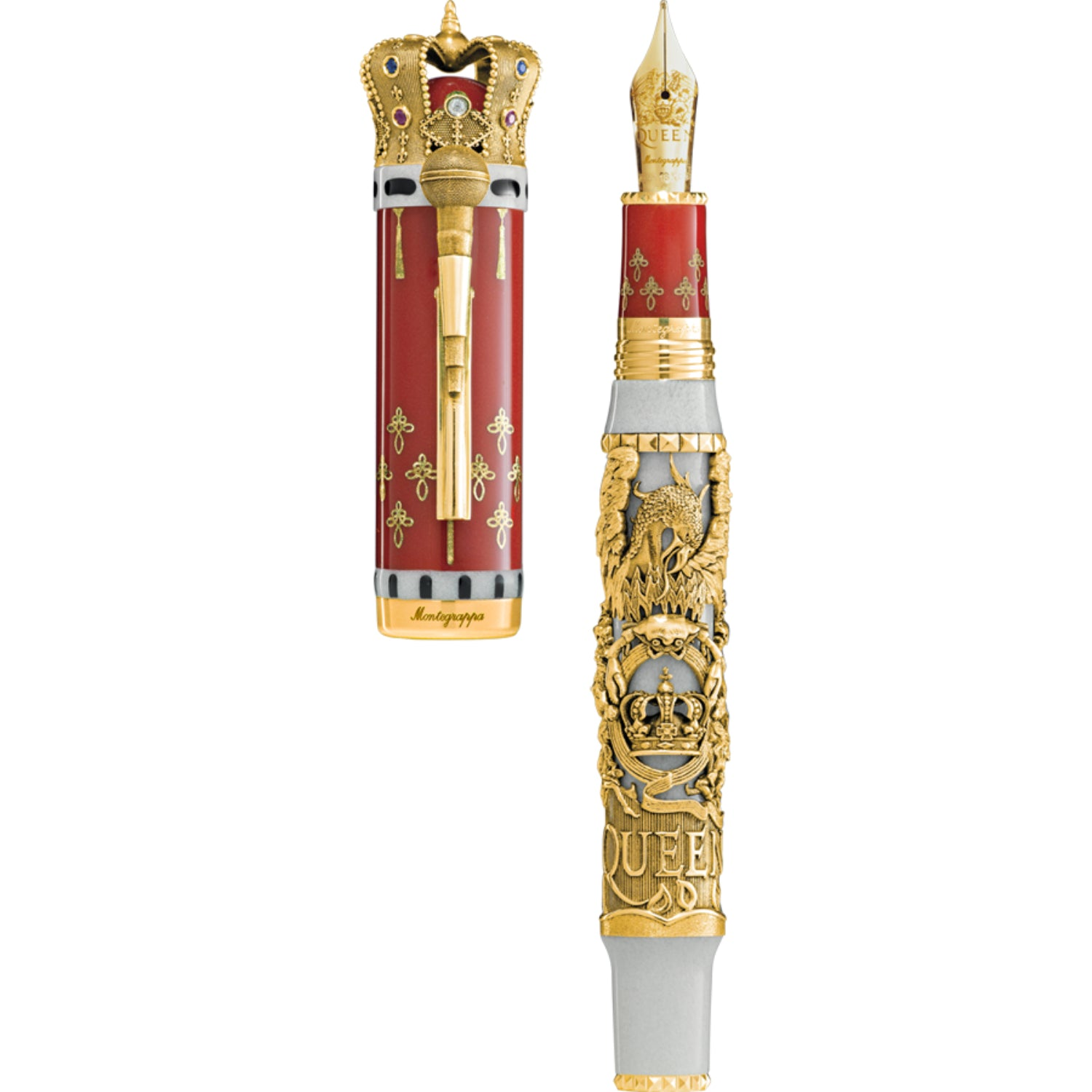 Queen: A Night at the Opera L.E. Fountain Pen, Gold, Double Broad