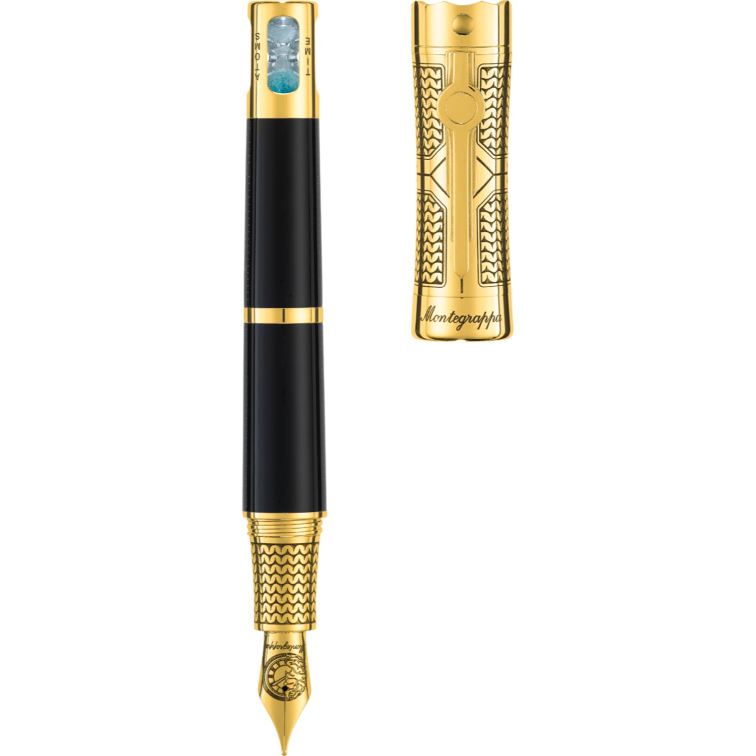 Time&Brain L.E. Fountain Pen, Gold, Fine
