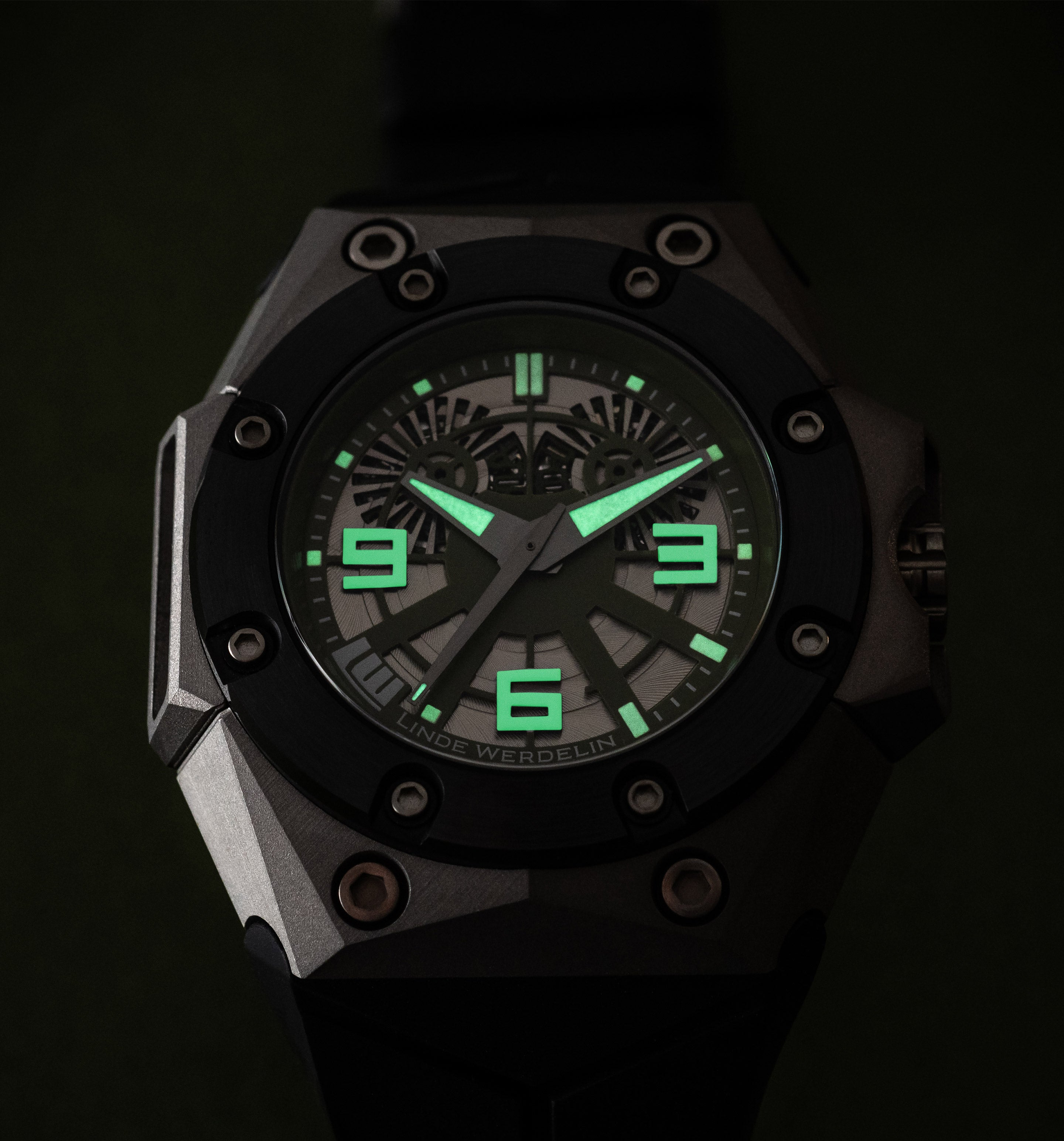 The Oktopus Deep Sea is a very special watch, inspired by a commission that Linde Werdelin