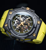 The lightest ever Linde Werdelin watch, SpidoLite 3DTP Carbon