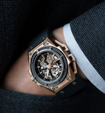 SpidoLite Gold Watch - 3D Movement