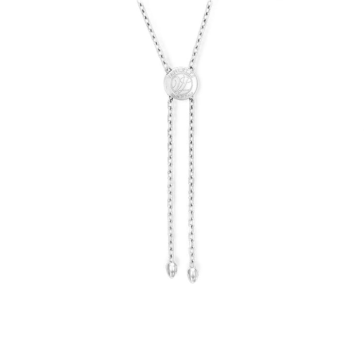 Pendant crafted in 18K White Gold Amor Collection