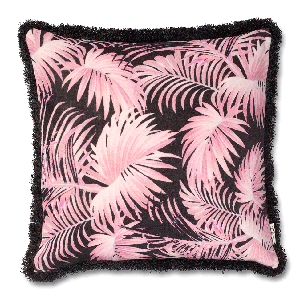 Cushion Cover Palm Delusion Pink