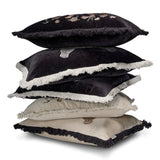 Cushion Cover Pardus Black/White