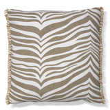 Cushion Zebra Simply Taupe