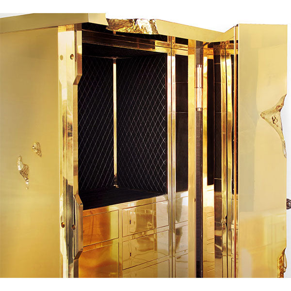 Millionaire Gold Jewelry Safe