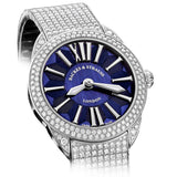 Piccadilly Renaissance 40 Luxury Diamond Watch for Men and Women - 40 mm White Gold - Backes & Strauss