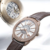 Piccadilly Renaissance 33 Luxury Diamond Watch for Women - 18kt Rose Gold