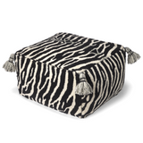 Pouf Zebra Black/White