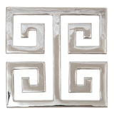 Trivet Miami Beach Nickel-Plated Brass