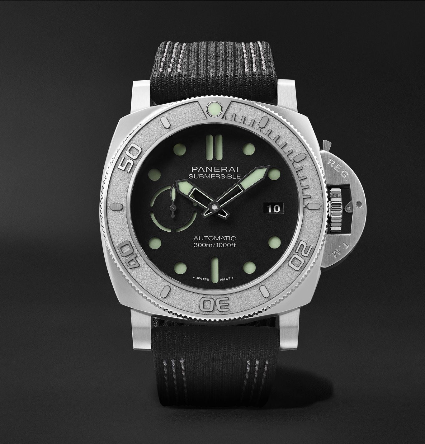 Submersible Mike Horn Edition Automatic 47mm Eco-Titanium and PET Watch