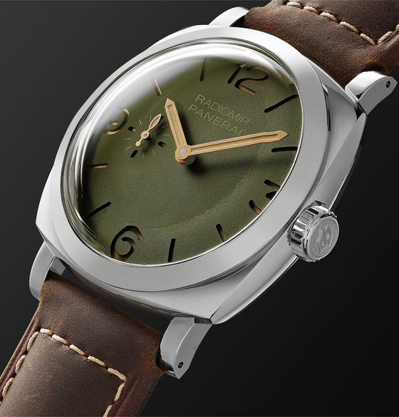 Radiomir Automatic 45mm Stainless Steel and Leather Watch