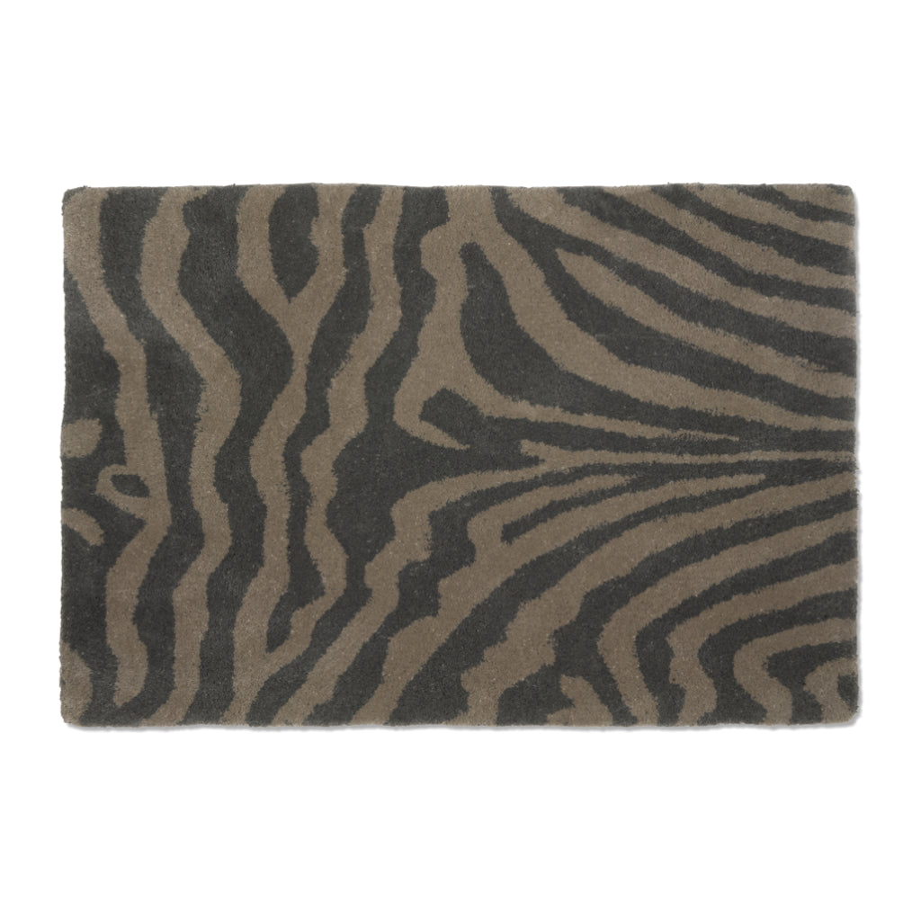 Doormat Zebra Grey
