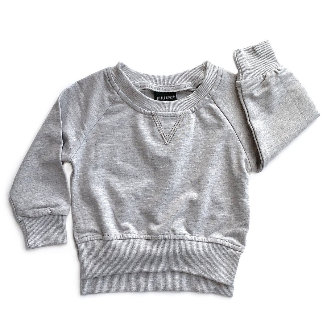 Little Bipsy Grey Pullover