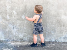 Load image into Gallery viewer, Beau Hudson Black Overalls