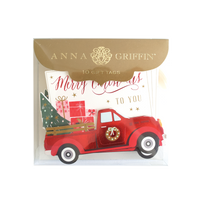 Anna Griffin - Gift Tags Holiday Red Truck