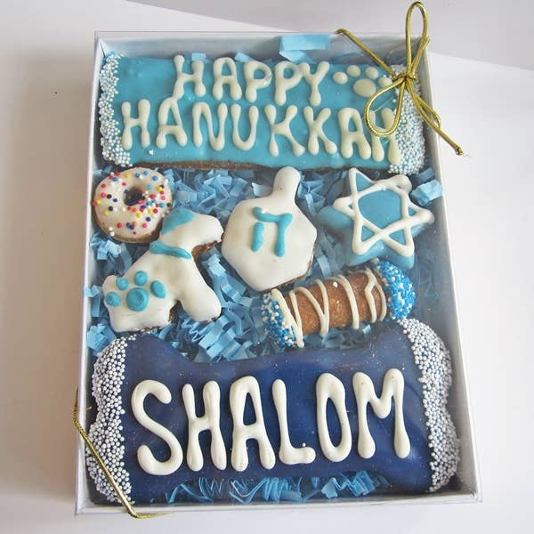 Dog Park Publishing - Large Hanukkah Dog Treat Assortment