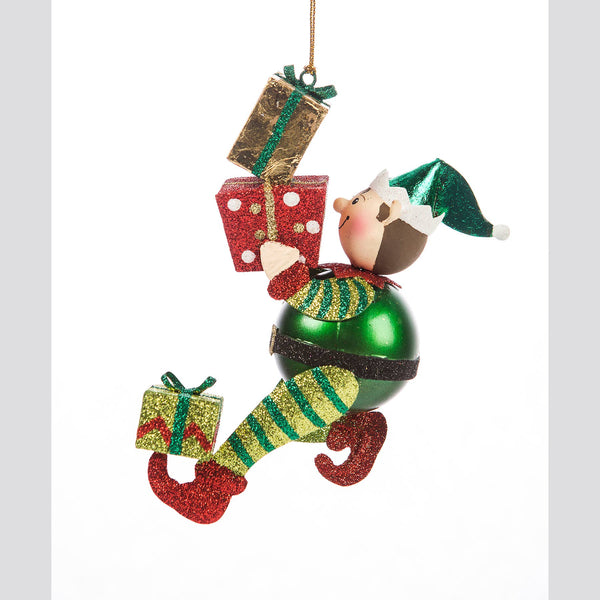 DTHY! - Elf Carrying Gifts Ornament