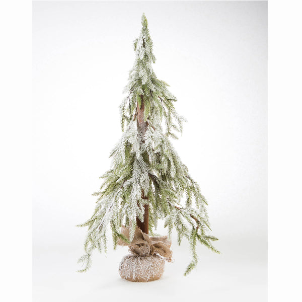 "DTHY! - 39"" Flocked Christmas Tree"