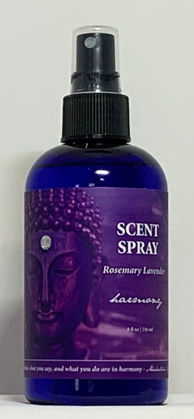 Natural Selection Bath and Body - Harmony Rosemary Lavender Buddhalicious 8 oz Scent Spray