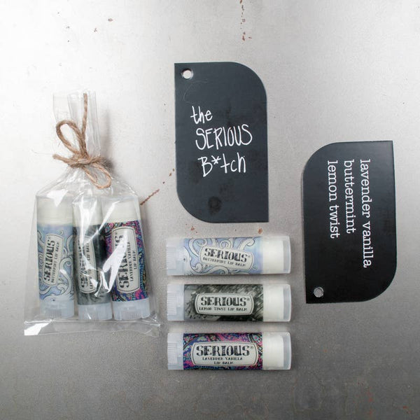 Serious Lip Balm - The Serious Bitch Bundle