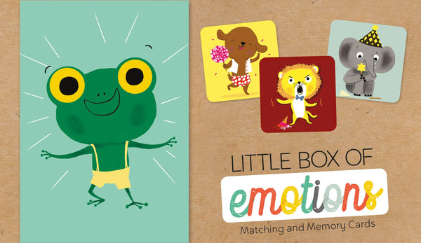 Schiffer Kids - Little Box of Emotions: Matching and Memory Cards
