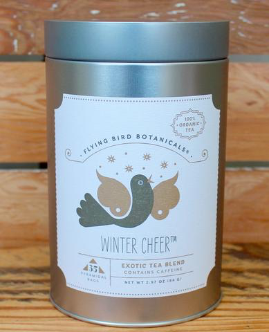 Flying Bird Botanicals - Winter Cheer – 35 Tea Bag Tin