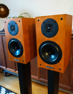 Spendor S3/5R2 2 Way Speakers - Cherry Cabinets