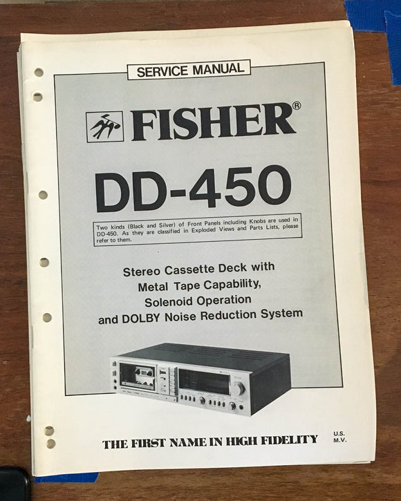 Fisher MC-4038 / MC4038 Stereo System Service Manual *Original*