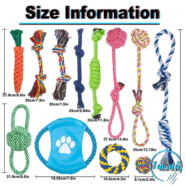 Dog Games Rope Toys
