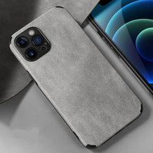 Load image into Gallery viewer, SuperLuxed Suede iPhone Case