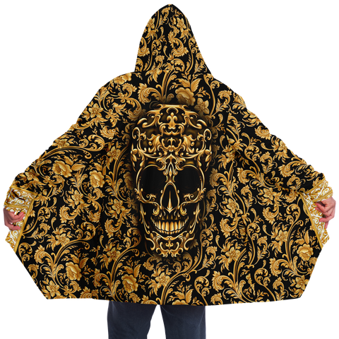 Baroque Skull Luxurious Cloak