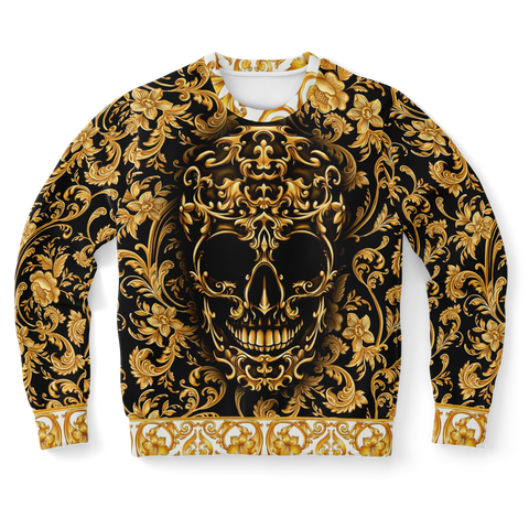Baroque Skull Unisex Luxury Sweatshirt