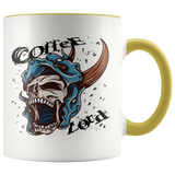 Coffee Lord Skull - 11oz Ceramic Mug