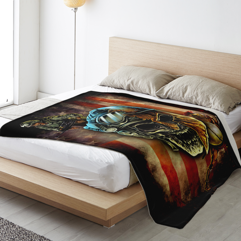 Spartan Warrior Soldier Premium Blanket