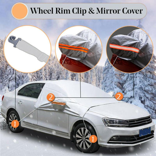 Universal Car Covers Winter Snow Ice Rain Dust Frost Guard Car Windshield Cover Protector Car Accessries