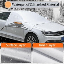 Load image into Gallery viewer, Universal Car Covers Winter Snow Ice Rain Dust Frost Guard Car Windshield Cover Protector Car Accessries