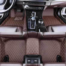 Load image into Gallery viewer, Custom car floor Foot mat For bmw f10 x5 e70 e53  f11   e30 for cadillac toyota  Benz  Lexus, Audi waterproof Auto accessories