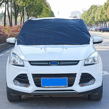 Load image into Gallery viewer, Shield Car Cover Dust Resistant Half Covers  Indoor Outdoor Protection Auto Care Accessories