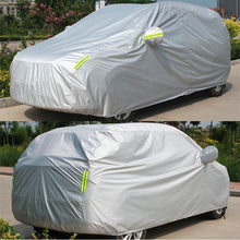 Load image into Gallery viewer, Universal Car Full Cover Dust Sun UV Anti Shade Covers With Reflective Strip Auto Outdoor Protect Covers For Sedan SUV Hatchback