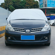 Load image into Gallery viewer, UV Protection Outdoor Waterproof Windproof Dust Proof Car Cover Car Body Half Car Covers