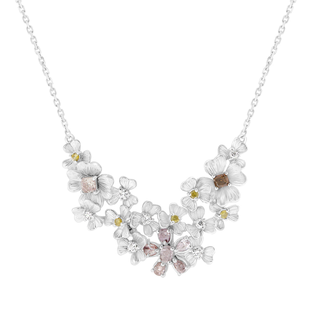 Blooms Diamond Necklace