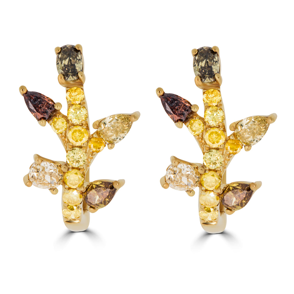 Bud Diamond Earrings