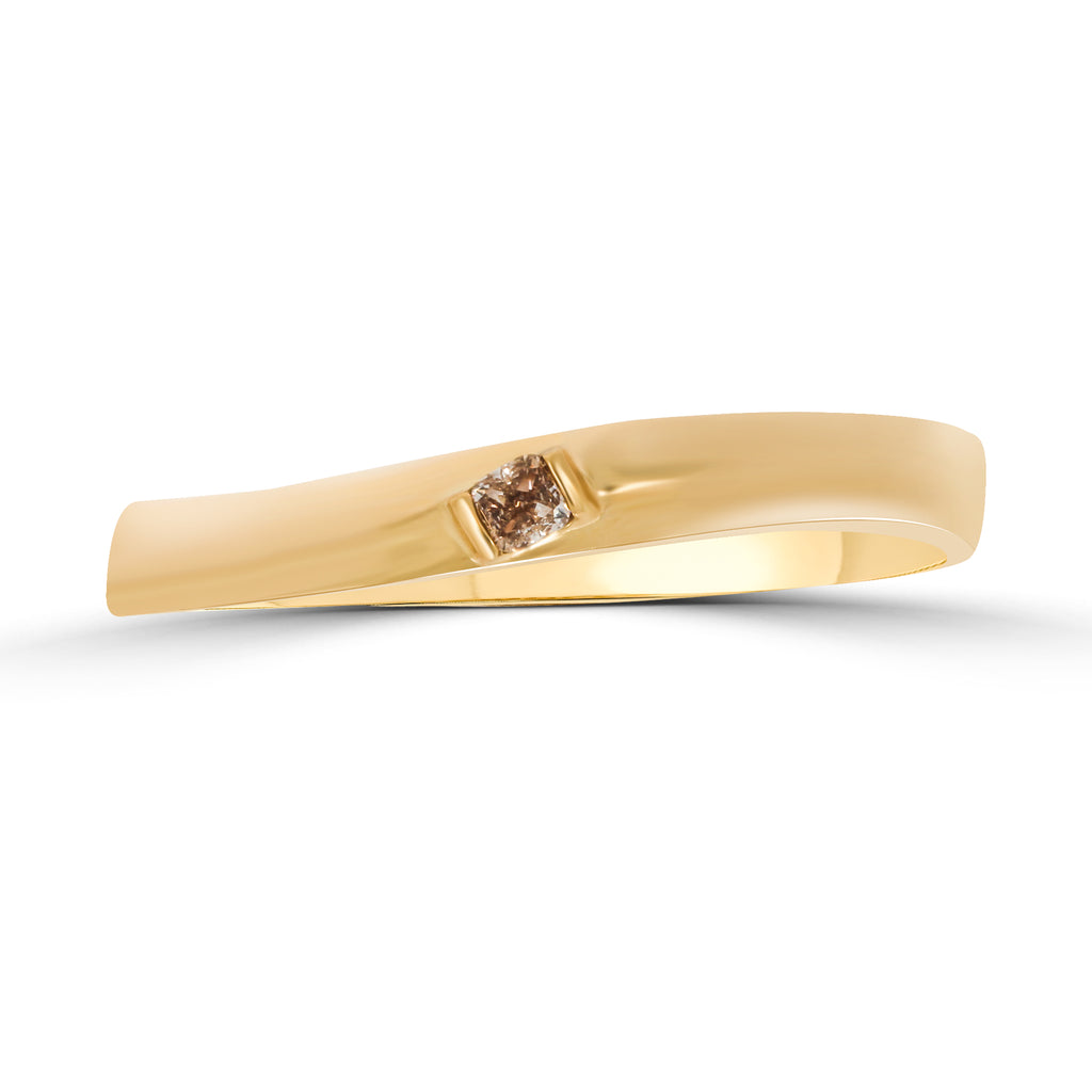 Unity Curve Diamond Ring