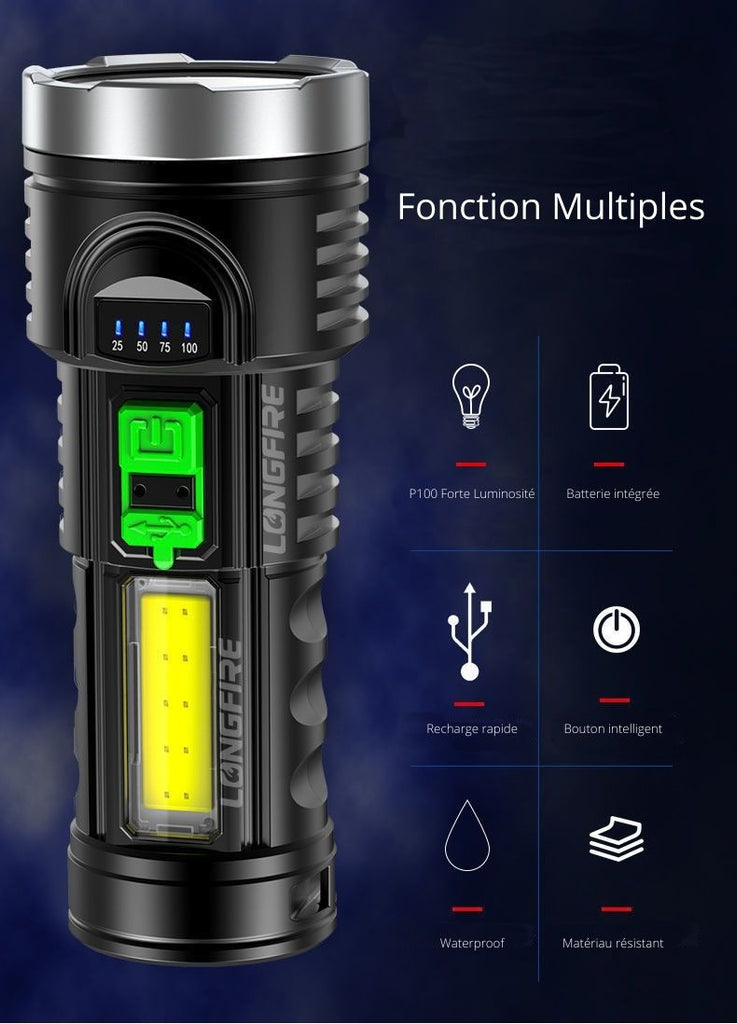 fonctions multiples lampe led ultrabright